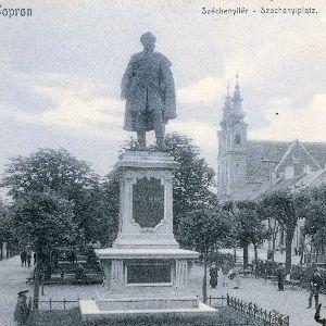 Sopron - Széchenyitér - Szechenyiplatz