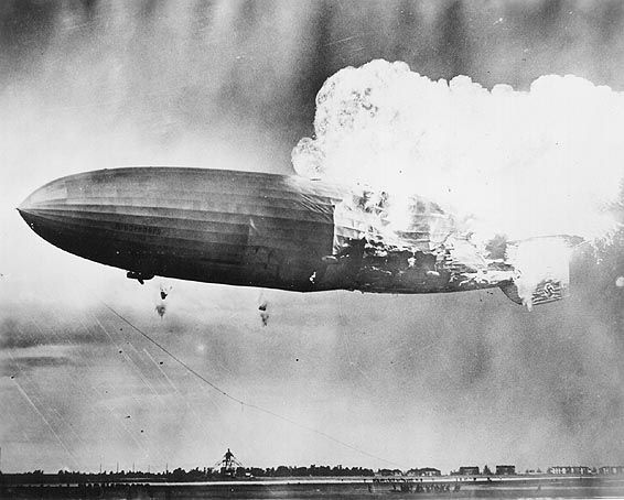 Not all ideas end well...Hindenberg Explo, Zeppelin Hindenburg, History Things, Airship Hindenburg, 1937 Hindenburg, Hindenburg Disasters, Shock History,  Dirigible, Airship Era