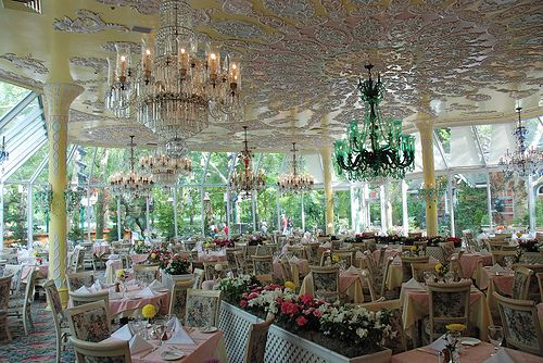 Tavern on the Green, NYC  So beautiful and greatly missed.