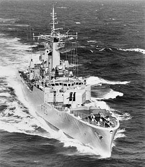 HMS Plymouth (F126) underway...!