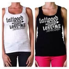 Love Me Women's Tank Black or White  SubCulture Clothing Store