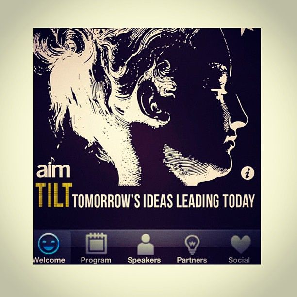 NEW TILT app for AIMs upcoming music industry event: Tomorrows Ideas Leading Today Hosted by James Matheson and including guest speaker Peter Garrett #music #aim #australiainstituteofmusic #petergarrett #musicindustry