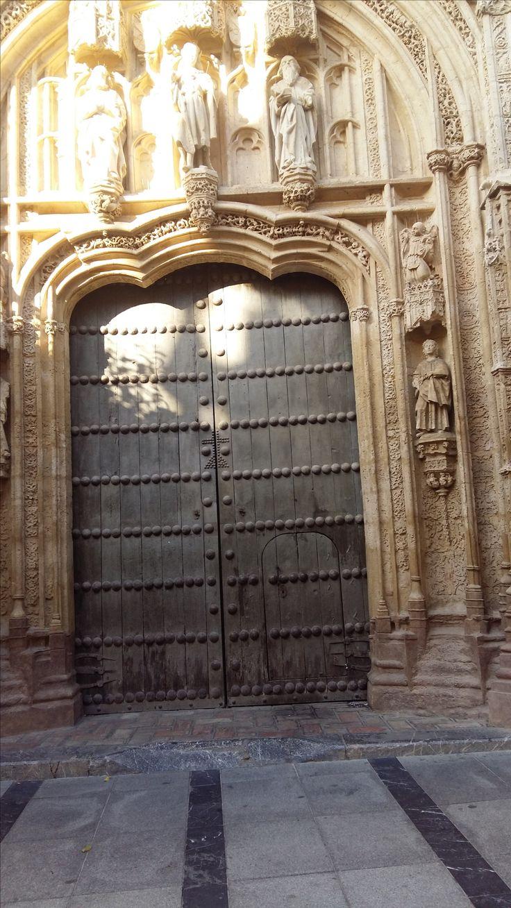 Great door in the Mezquita Cordoba, Spain.