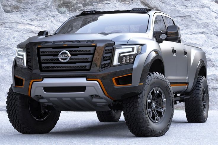 Nissan Titan Warrior Concept ready for the apocalypse [80 pics + video]