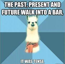 linguistics humor. Lartz would love this.