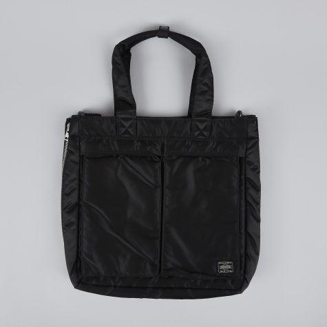 Porter Yoshida & Co. Tanker Tote Bag B - Black