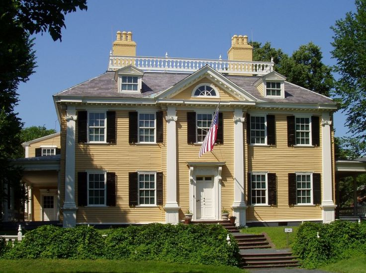 Longfellow National Historic Site, Cambridge. From this location, Washington coordinated the Siege of Boston.