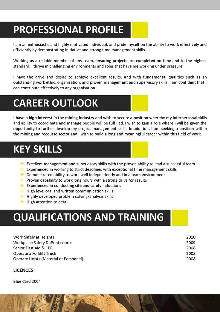 24 best Resume Download images on Pinterest Sample resume, Resume