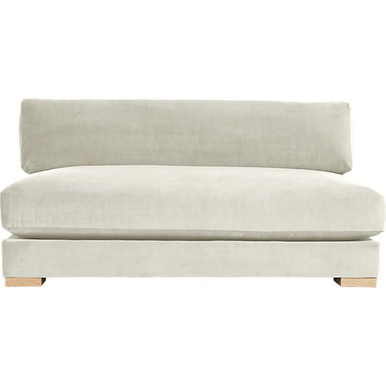 Piazza Apartment Sofa Snow Cb2 Another