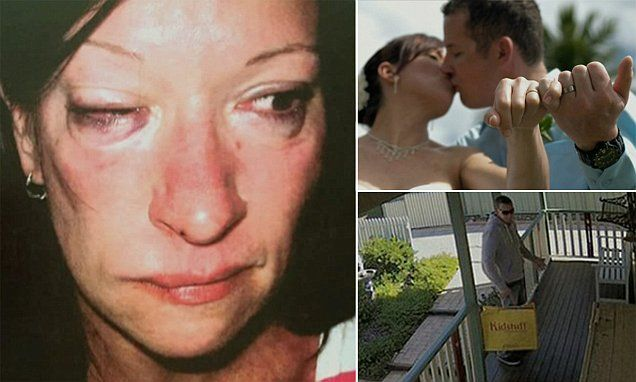 Woman whose husband punched in the face as he held their son, aged one