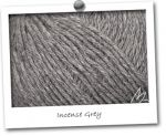 CACHEMIRE 100% - coloris INCENSE GREY