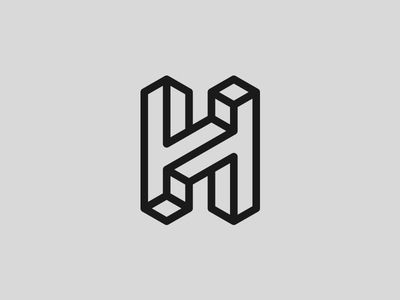 Dribbble - H by Joshua Hathaway