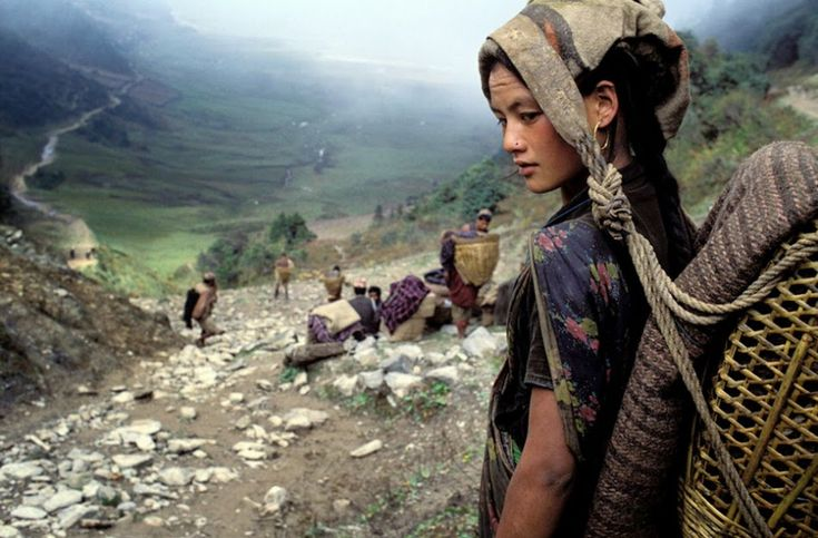 Hamid Sardar captures a tribal Chhetri woman in Nepal. [2009]