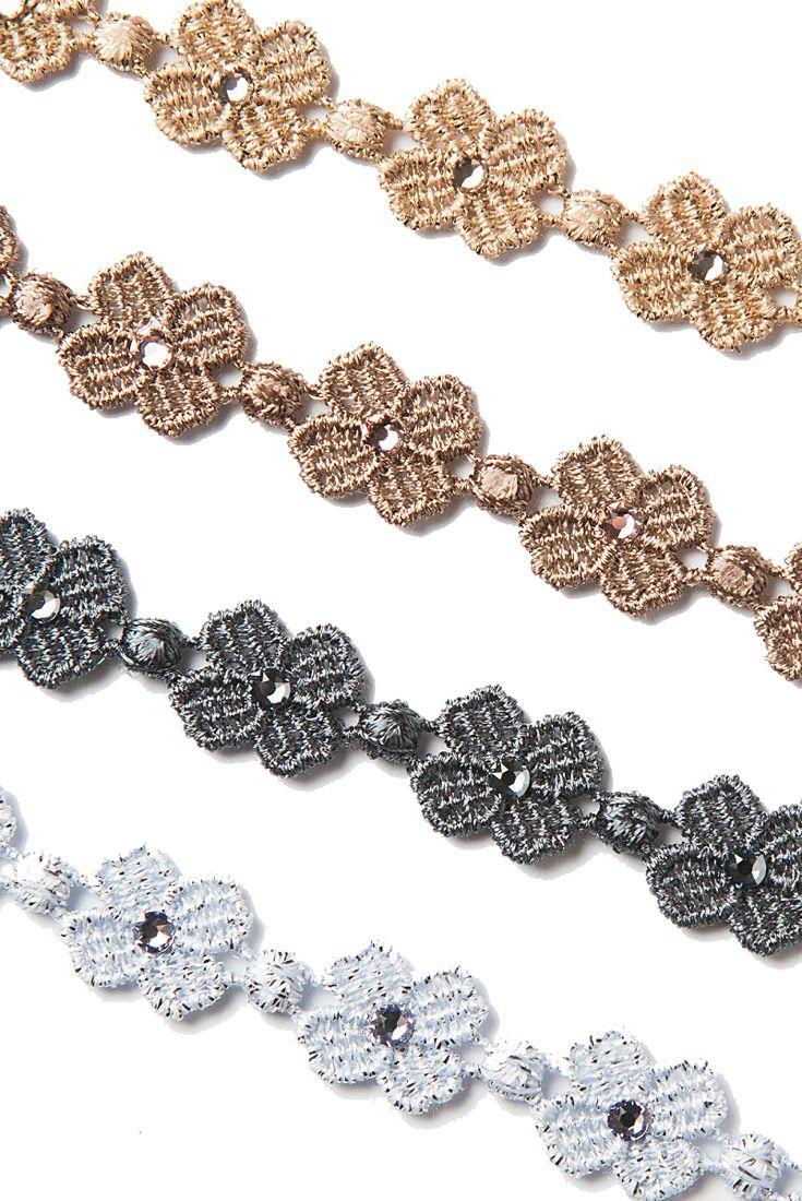 Four-leaf Clover with Swarovski Crystals  #cruciani #bracelets