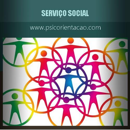 SERVIÇO SOCIAL – Execução, desenvolvimento de políticas públicas e de programas sociais relativos ao bem-estar e integração.        Atuação: Educação, empresas, proteção à criança e ao adolescente, saúde