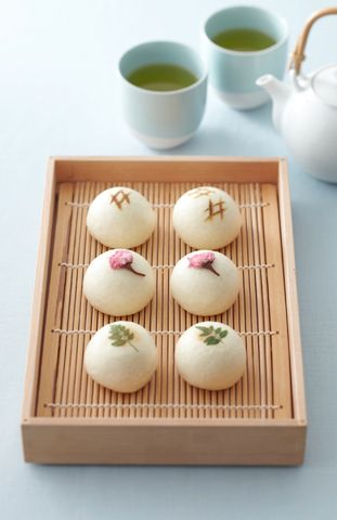 Japanese sweets are great for tea parties - delicate, detailed and always lovely. Find a local Japanese market #SupportLocal https://www.etsy.com/shop/royalteahats