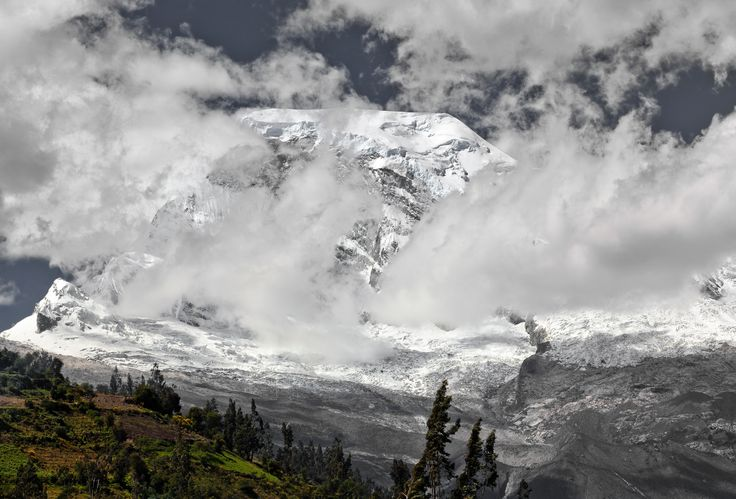 snowy Huascaran cordillera blanca peru by juan gabaldon on 500px