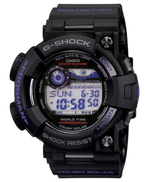 Casio GF1000BP-1 Men's Solar Powered World Timer Alarm Watch