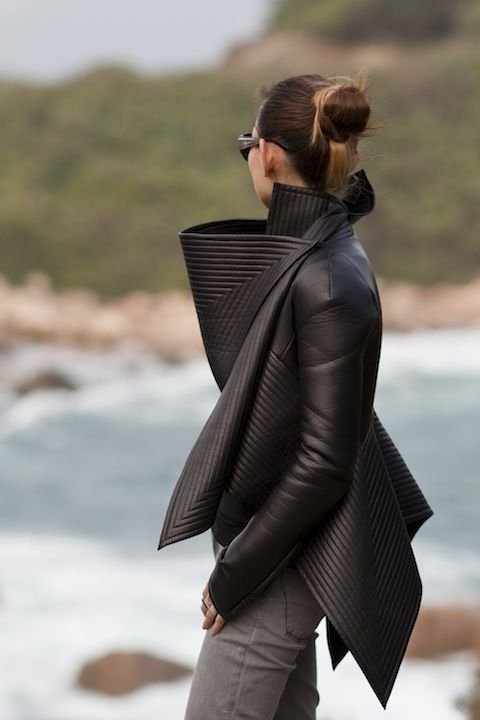 Gareth Pugh  great leather how did I miss buying this?
