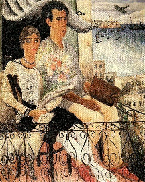 Reuven Rubin, (1893-1974) - El prometido, 1929
