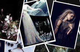 Wedding Theme Inspiration / Black Magic Woman
