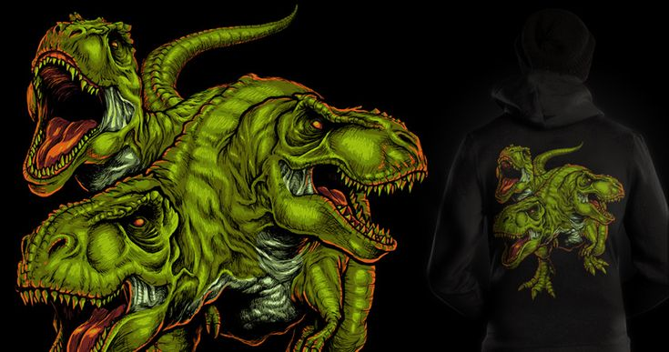 cerbesaurus v.2.0 http://www.threadless.com/threadless/cerbesaurus-v20/