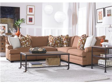 Morgan Sectional by Sam Moore. Deep and comfy with many fabrics to choose from. : sam moore sectional - Sectionals, Sofas & Couches