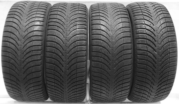 4 1956515 Michelin Alpin A4 195 65 15 Winter Mud Snow Used Part Worn Tyres x4  Save On Tyres Exeter 01392 20 30 51 Opony Zimowe