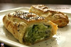 Strudel broccoli e stracchino.I broccoli sono una delle mie verdure preferite e oggi ho preparato uno strudel salato con questa verdura di stagione