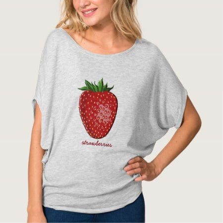 Strawberries --summer top - click to get yours right now!