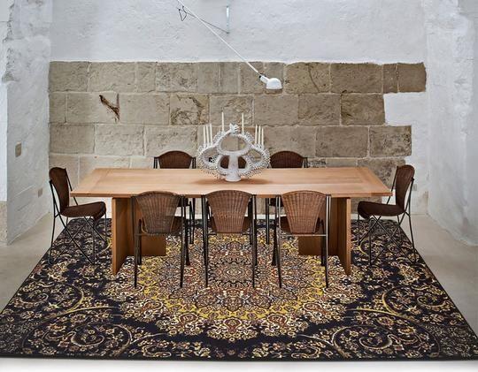 Ethnic Style Nylon Carpet Floor Carpet And Rugs For Living Room