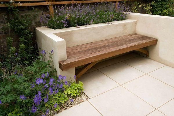 Built-in garden seat