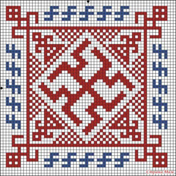 Славянские обереги - схемы