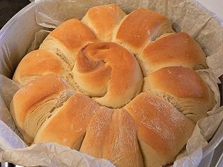 Pane sfogliato con il Bimby.
