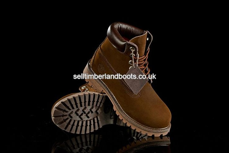 2017 New Women's Timberland 6 Inch Boots Chocolate Outlet UK £72.00