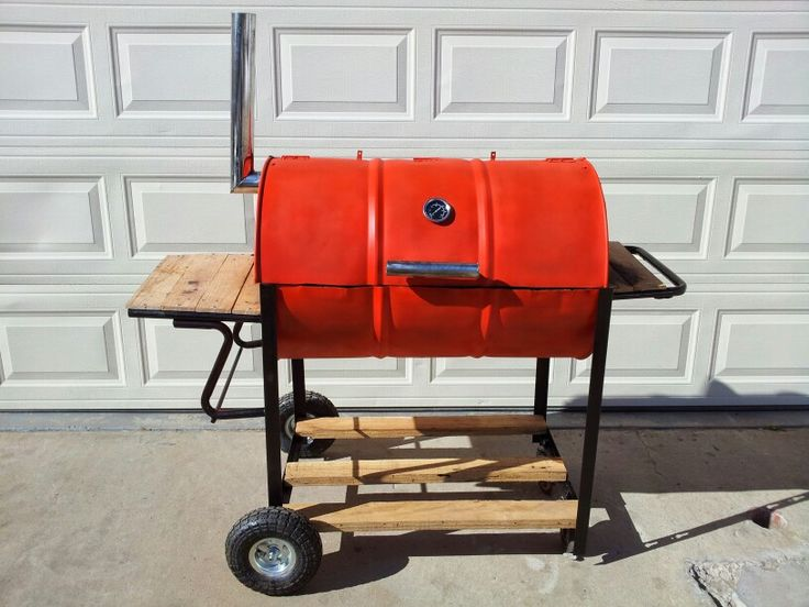 55 gallon drum bbq grill