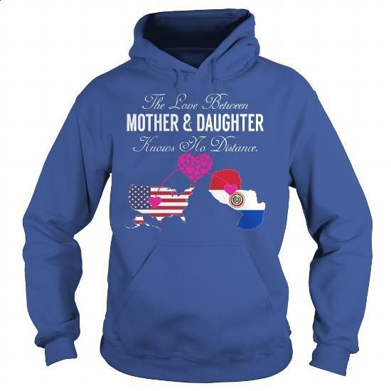 Mother Daughter United States - Paraguay - #funny t shirts for men #short sleeve sweatshirt. GET YOURS => https://www.sunfrog.com/States/Mother-Daughter-United-States--Paraguay-Royal-Blue-Hoodie.html?60505