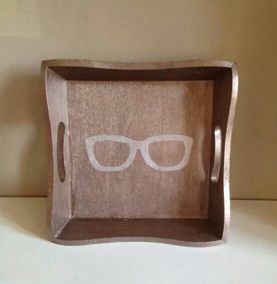Plateau pour lunettes!