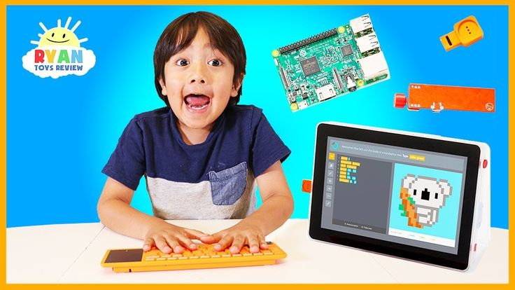 nice Ryan Learns coding and hack Minecraft by building his own laptop with Kano Computer Kit