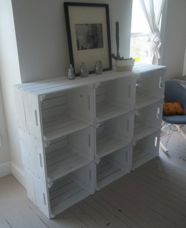Crate Storage Bookshelf