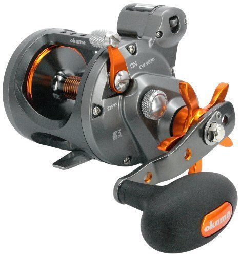 Okuma Cold Water Linecounter Reel 2+1bb 4.2:1 25lb/430yd Rh CW-453D #reel #linecounter #water #cold #okuma