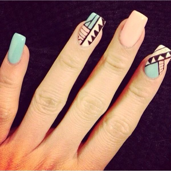 Best 25+ Indian Nail Art Ideas On Pinterest