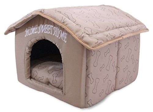 Best Pet Supplies Home Sweet Home Bed | Dog Supplies - Warning: Save up to 87% on Dog Supplies and Dog Accessories at Our Online Pet Supply Shop