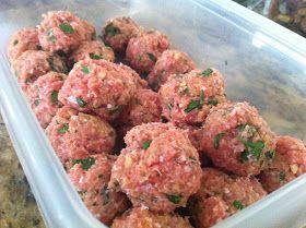 Stracciatella: Skinny Crockpot Turkey Meatballs