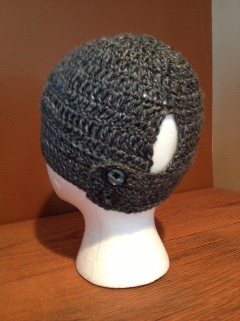 PDF Pattern Crochet ponytail hat. No more bumps by MyOmaKnits, $5.00