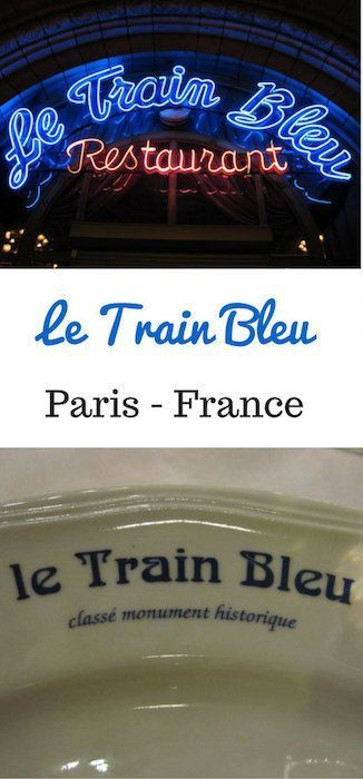 Le Train Bleu - one of the best restaurants in Paris