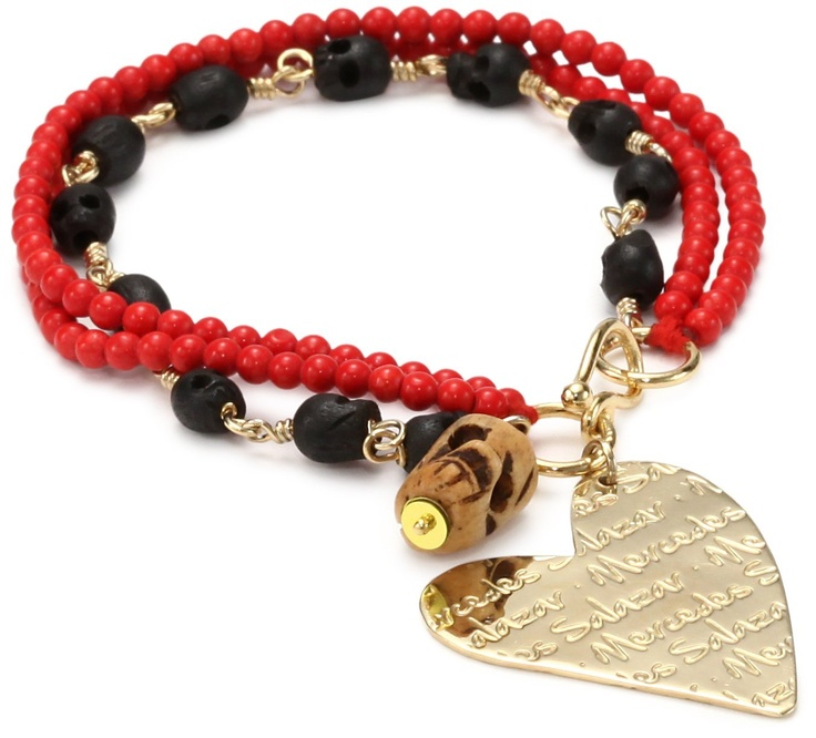 """Mercedes Salazar """"Multicharms"""" Bracelet"""