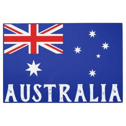 c45387ca14  Posters  Metal  Art -  Australia flag metal print
