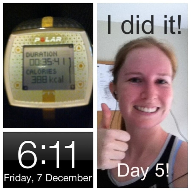 @katebelate day 5 done! Run & pushups + tricep dips en route. its been tiring but fun
