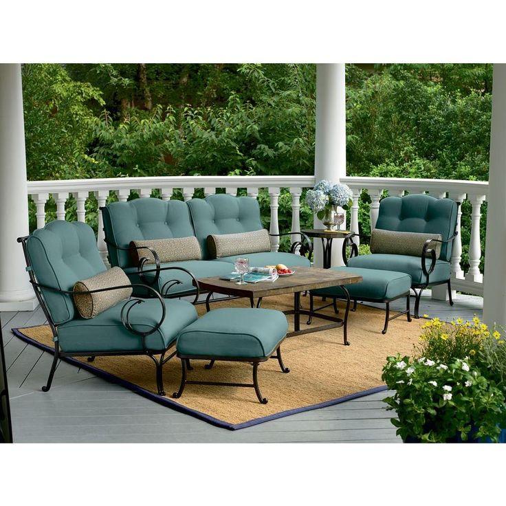 Hanover oceana 6piece patio lounge seating setoceana6pc